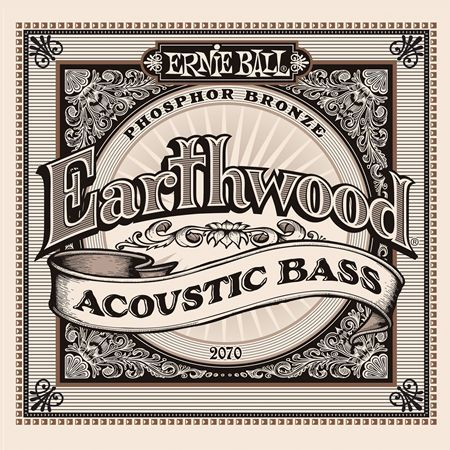 Ernie Ball P02070 Acoustic Bass Earthwood Phosphor Bronze 45-95