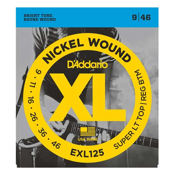 D`ADDARIO EXL125 Super Light Nickel Wound 9-46