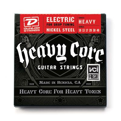 Dunlop DHCN1048 Heavy Core Nickel Steel 10-48