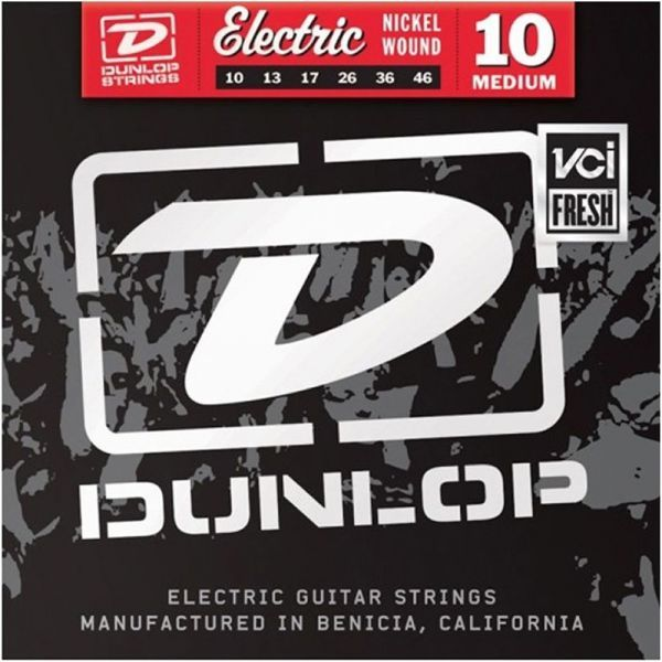 Dunlop DEN1046 Electric Guitar Nickel 10-46