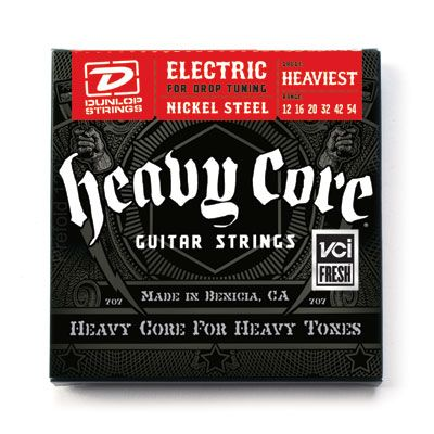 Dunlop DHCN1254 Heavy Core Nickel Steel 12-54