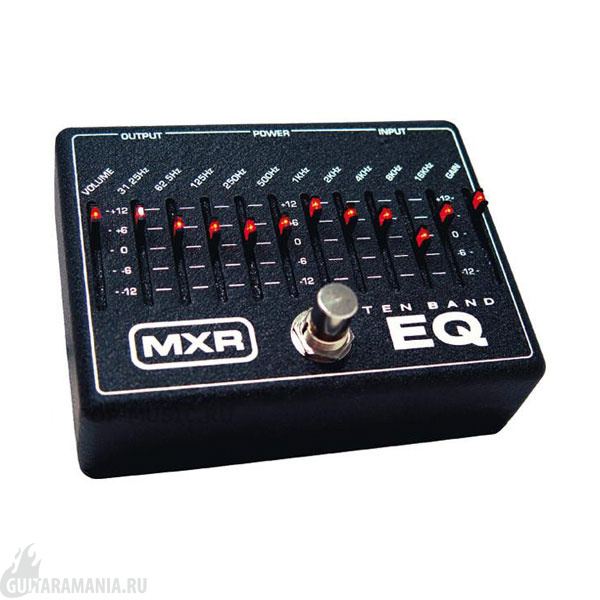 MXR 10-Band Graphic EQ M108EU Dunlop