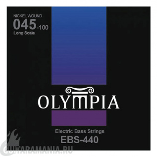 Olympia EBS-440 Nickel Wound 45-100