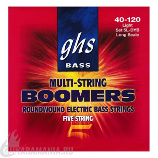 GHS 5L-DYB Bass Boomers Light String