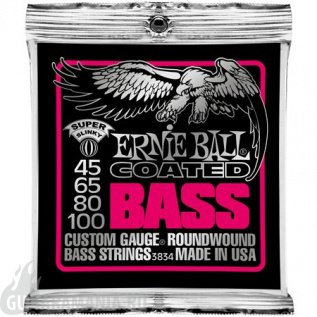 Ernie Ball P03834 Coated Bass 45-100