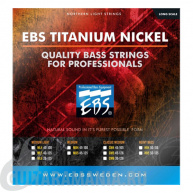 EBS Titanium Nickel Strings TN-MD5 45-125