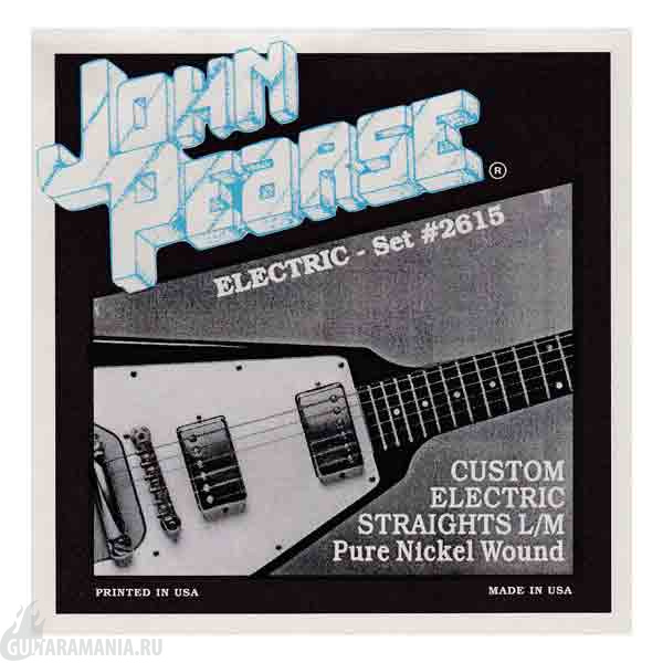 John Pearse 2615 Custom Electric Straights L/M