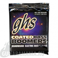 GHS CB-M3045 Coated Bass Boomers Medium String