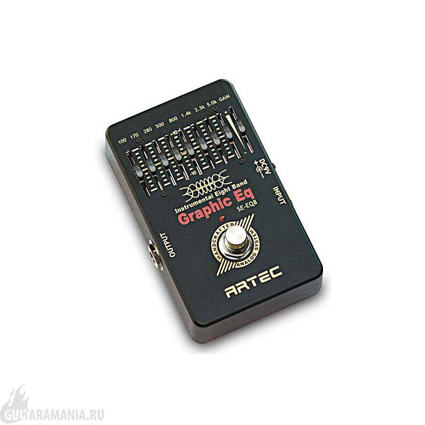 Artec SE-EQ8 Graphic Equalizer
