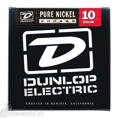 DUNLOP DEK1046 Pure Nickel 10-46