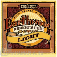 Ernie Ball P02004 EARTHWOOD LIGHT ACOUSTIC 80/20 BRONZE 11-52