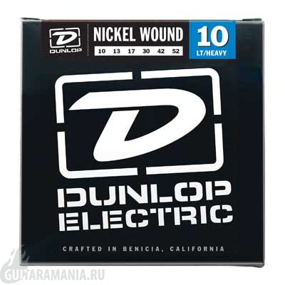 Dunlop DEN1052 Electric Guitar Nickel 10-52