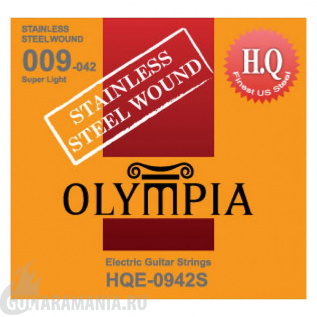 Olympia HQE-0942S Super Light Sainless Steel Wound 09-42
