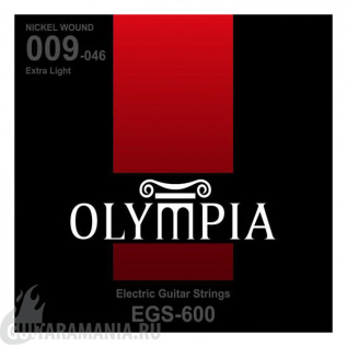 Olympia EGS-600 Extra Light Nickel Wound 09-46