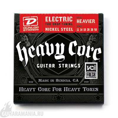 Dunlop DHCN1150 Heavy Core Nickel Steel 11-50