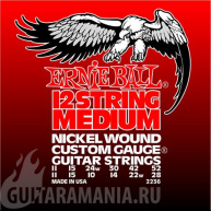 Ernie Ball P02236 12-String Medium Electric Nickel Wound 11-11. 52-28.