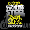 Ernie Ball P02246 Stainless Steel Regular Slinky 10-46