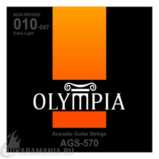 Olympia AGS-570 80/20 BRONZE 10-47