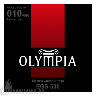 Olympia EGS-500 Regular Light Nickel Wound 10-46