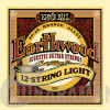 Ernie Ball P02010 EARTHWOOD 12-STRING LIGHT ACOUSTIC 80/20 BRONZE 9-46. 9-26.