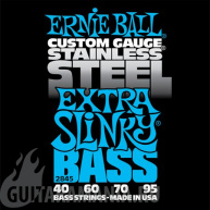Ernie Ball P02845 Extra Slinky Stainless Steel Bass 40-95