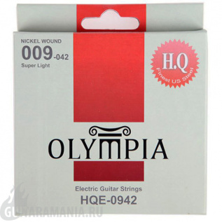 Olympia HQE-0942 Super Light Nickel Wound 09-42