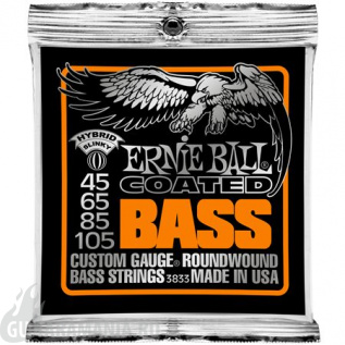 Ernie Ball P03833 Coated Bass 45-105
