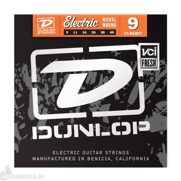 Dunlop DEN0946 Electric Guitar Nickel 09-46